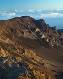 Volcán de la salida del sol Imagen de archivo