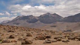Volcán de Linzor - Antofagasta Fotografía de archivo libre de regalías