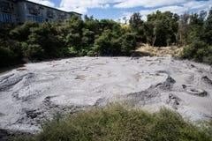 Volcán de Nueva Zelanda Imágenes de archivo libres de regalías
