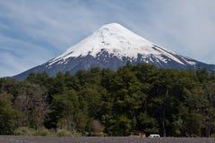 Volcán de Osorno en Chile imágenes de archivo libres de regalías