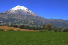 Volcán de Pico de Orizaba, México Imágenes de archivo libres de regalías