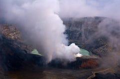 Volcán de Poas Foto de archivo