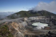 Volcán de Poas Fotos de archivo libres de regalías