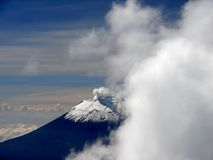 Volcán de Popocarepetl Imagen de archivo libre de regalías