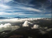 Volcán de Popocatepetl cerca de Ciudad de México imagen de archivo