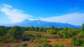 Volcán de Rinjani Foto de archivo libre de regalías