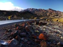 Volcán de Ruapehu del soporte, Nueva Zelanda Imagen de archivo libre de regalías