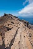 Volcán de San Antonio en la isla de Palma del La, islas Canarias Fotos de archivo