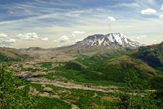 Volcán de St'Helens Foto de archivo