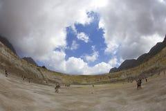 Volcán de Stefano Imagen de archivo libre de regalías