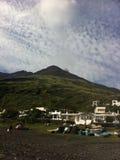 Volcán de Stomboli Fotos de archivo libres de regalías