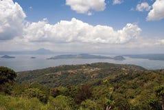 Volcán de Taar Foto de archivo libre de regalías