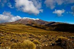 Volcán de Tongariro Imagen de archivo