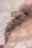 Volcán de Tungurahua, explosión potente Foto de archivo