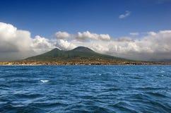 Volcán de Vesuvio. Nápoles. Italia Foto de archivo libre de regalías