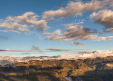 Volcán del altar, montañas de Suramérica, los Andes Imagenes de archivo