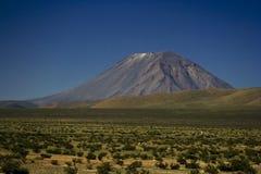Volcán del EL Misti Foto de archivo libre de regalías