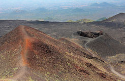 Volcán del Etna Imagen de archivo