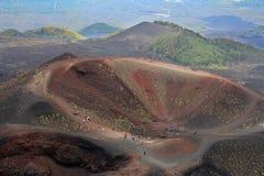 Volcán del Etna Imagen de archivo libre de regalías