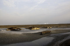 Volcán del fango Imagen de archivo