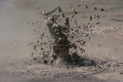 Volcán del fango Fotografía de archivo libre de regalías