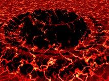 Volcán dos Imagen de archivo libre de regalías