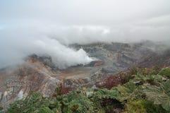 Volcán en Costa Rica Imágenes de archivo libres de regalías