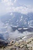 Volcán en Kamchatka imagen de archivo libre de regalías