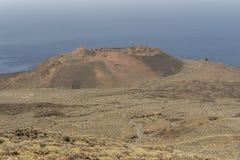 Volcán en la isla del EL Hierro Imágenes de archivo libres de regalías