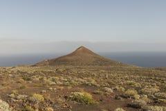 Volcán en la isla del EL Hierro Fotografía de archivo libre de regalías