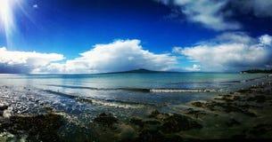 Volcán en Nueva Zelandia Imagenes de archivo