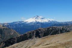 Volcán en Patagonia Foto de archivo