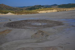 Volcán enorme del fango Fotografía de archivo