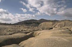 Volcán fangoso Imagen de archivo libre de regalías