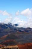 Volcán Hawaii de Haleakala Fotografía de archivo libre de regalías