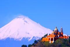 Volcán II de Popocatepetl Foto de archivo libre de regalías