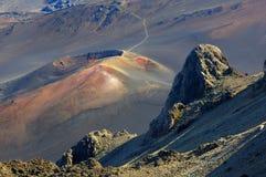 Volcán inactivo foto de archivo libre de regalías