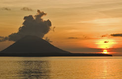 Volcán, Indonesia, Asia, Lembeh, Imágenes de archivo libres de regalías