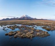 Volcán Sajama Foto de archivo libre de regalías