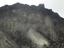 Volcán Sibayak 5 del azufre de Sumatra Fotografía de archivo libre de regalías