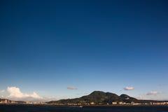 Volcán silencioso Foto de archivo