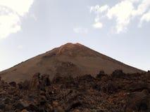 Volcán Teide Fotos de archivo libres de regalías