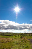 Volcan éteint de Kerid   Image stock