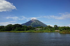 Volcan Консепсьон Стоковое Изображение RF
