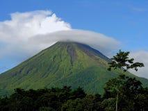 阿雷纳尔volcan的格斯达里加 免版税库存图片