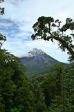 Volcan. Landscape of the Arenal Volcan in Costa Rica Royalty Free Stock Images