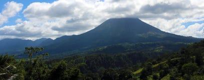 Arenal jungle volcano in Costa Rica Central America volcan active Stock Photos
