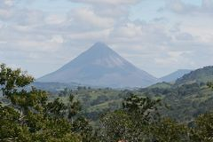 Volcan Arenal Royalty Free Stock Photography