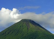 Volcan Arenal, Costa Rica Royalty Free Stock Photos