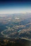 Volcan au Chili Photo libre de droits